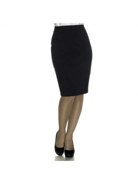 Black Air Hostess Uniform Skirt